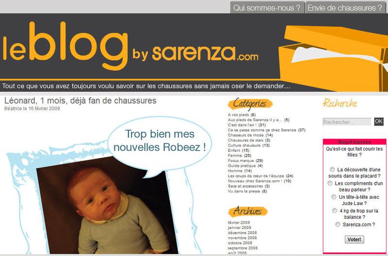 Blog Sarenza