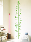 Stickers_measuring_plant